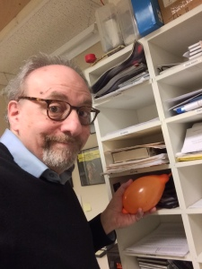 Here I am leaving a little surprise in Will Duchon's mailbox at WMNR. A water balloon is funnier than the time I left a kitten in  his mailbox, right?